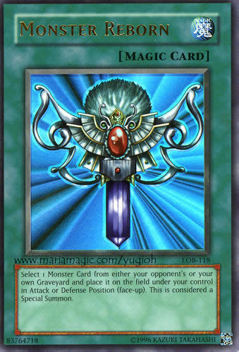 picture about Printable Yugioh Card identified as Yugioh Card Monster Reborn