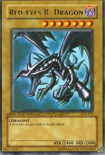 photo about Printable Yugioh Card identified as Printable Yugioh Playing cards - Pink Eyes Black Dragon
